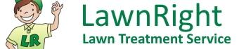 lawnright lawn treatment service logo